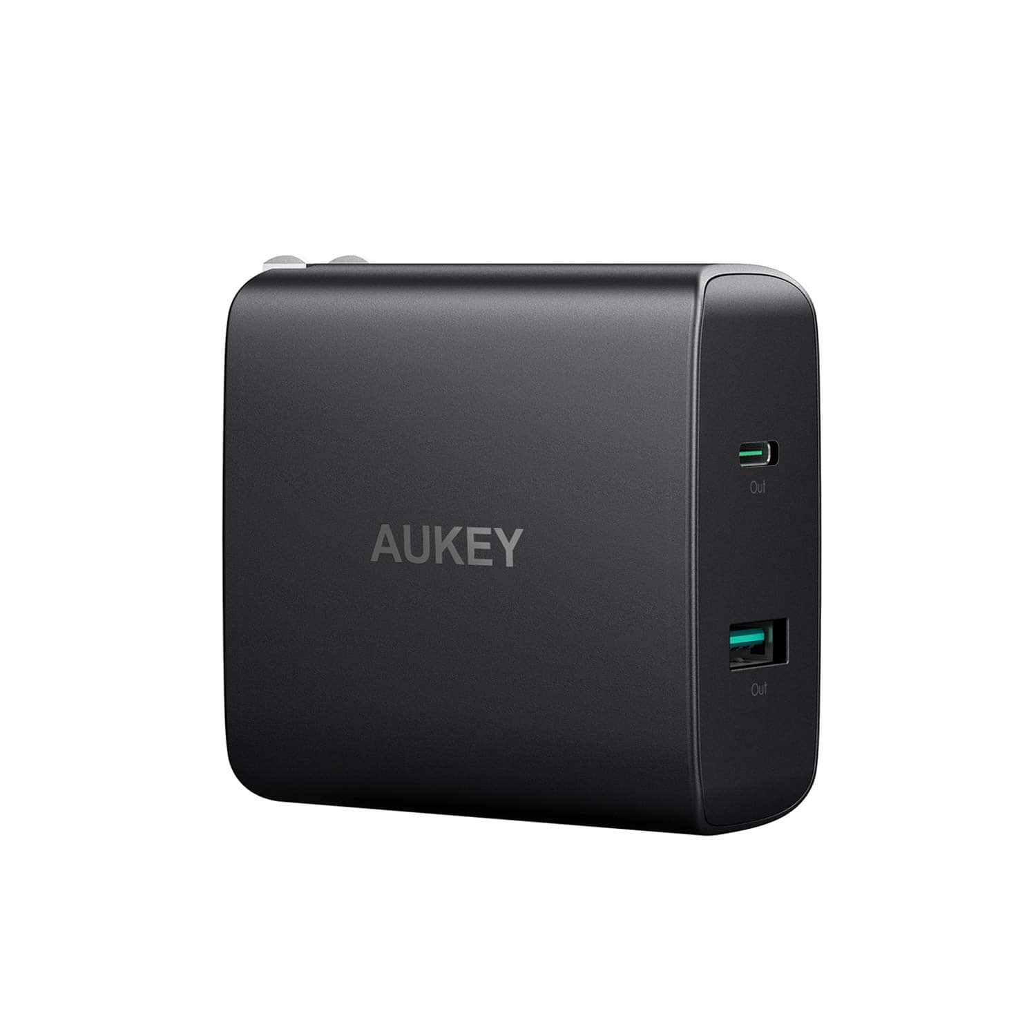 AUKEY USB C Charger with 46W Power Delivery 3.0 & 5V / 2.1A Ports USB Wall Charger $22.78
