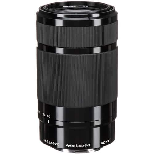Sony E 55-210mm f/4.5-6.3 OSS Lens (Black) $148