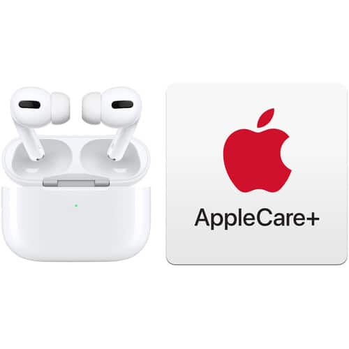 Apple AirPods Pro with Wireless Charging Case & AppleCare+ Kit $230