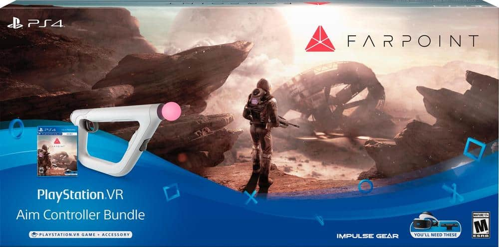Farpoint VR with Aim Controller Bundle $63.99 with (GCU) at Best Buy BACK IN STOCK!!!