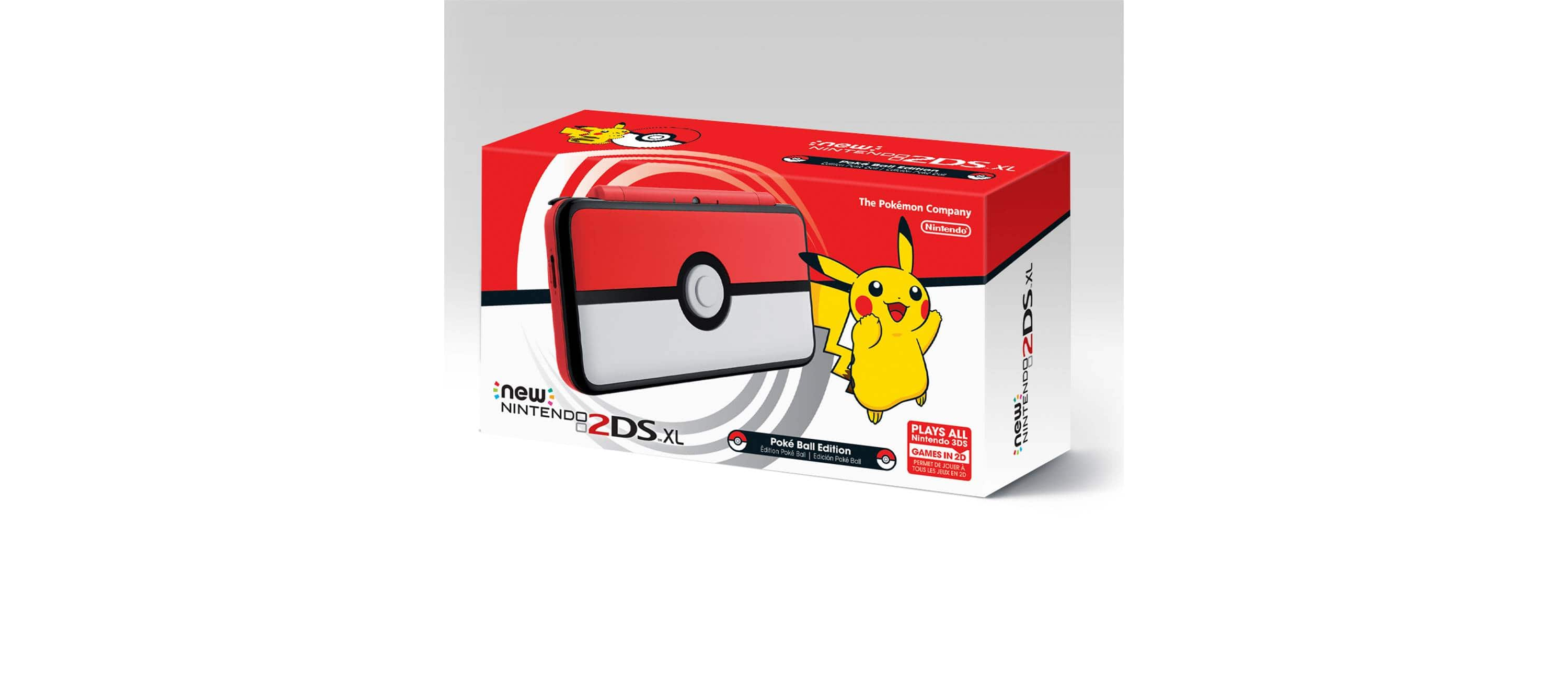 New Nintendo 2DS XL Poké Ball Edition PRE ORDER LIVE NOW $159.99