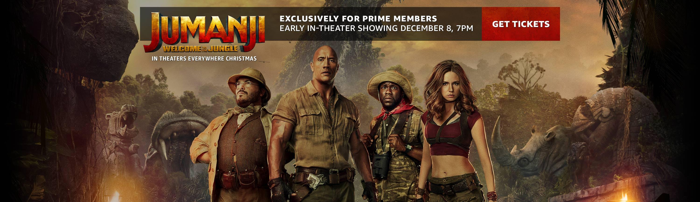 /Amazon Prime members can see Jumanji early