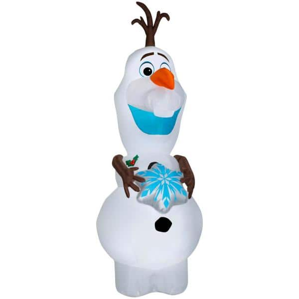 Disney 11ft Inflatable Olaf (Home Depot) - $69.98