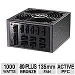 Ultra 1000W Modular ATX PSU 80+ Bronze - $60 AC, AR - TigerDirect