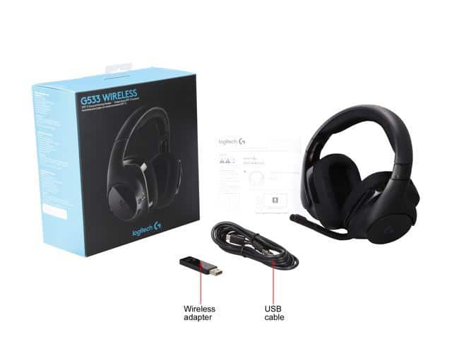 Logitech G533 Wireless DTS 7.1 Surround Sound Gaming Headset $84 + Free Shipping + Dell Price Match $83.99