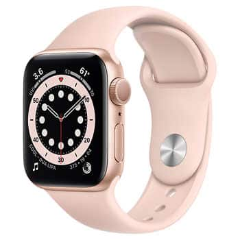 Apple Watch Series 6 40mm GPS - 330$ and 44mm - $360
