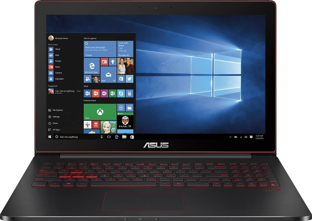 "Asus - ROG G501JW 15.6"" Laptop - Intel Core i7 - 8GB Memory - NVIDIA GeForce GTX 960M $779 NEW"