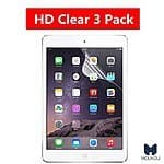iPad Air Dry Install Type HD Film Screen Protector 3 Pack $3.99 + Prime Eligible or FSSS @ Amazon.com