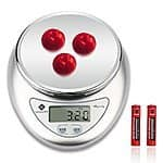 11LB Digital Kitchen Food Scale with LCD Display for $9.99 + Prime Eligible or FSSS @ Amazon.com