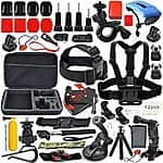 Accessories Kit for GoPro Sj4000 or SJ5000 with Head Strap Mount & Chest Harness, Monopod Tripod Adapter & Much More $24.99 + Prime Eligible or FSSS @ Amazon