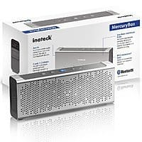 Amazon Deal: Inateck MercuryBox Aluminum 5W Dual-Driver Bluetooth 4.0 Portable Wireless Speaker with Built-In Mic for $42.99 AC + Free Shipping @ Amazon.com