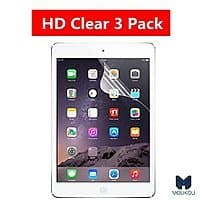 Amazon Deal: iPad Air Dry Install Type HD Film Screen Protector 3 Pack $3.99 + Prime Eligible or FSSS @ Amazon.com