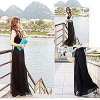 Amazon Deal: Womens Black Casual Wide Leg Bohemia Lounge Pants $9.99 + Prime Eligible or FSSS @ Amazon.com