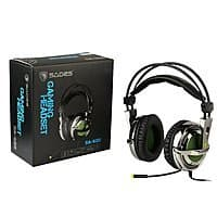 Amazon Deal: SADES SA-928 PC Gaming Headphones 3.5mm w/ Mic for PC/MAC w/ Free Headset Splitter Adapter $29.99 + Prime Eligible or FSSS @ Amazon.com