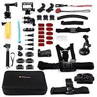 Amazon Deal: Powerextra 45-In-1 Accessories Kit for GoPro Hero with Head Strap Mount & Chest Harness, Monopod Tripod Adapter & Much More for $37.99 AC + Free Shipping @ Amazon.com