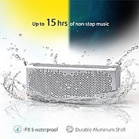 Amazon Deal: Inateck MercuryBox Aluminum 5W Dual-Driver Bluetooth 4.0 Portable Wireless Speaker with Built-In Mic for $36.99 AC + Free Shipping @ Amazon.com