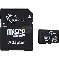 Newegg Deal: 64 GB G.SKILL Class 10 UHS-1 microSDXC Flash Card for $17.99 or 128 GB Silicon Power Elite Class 10 UHS-1 MicroSDXC Flash Card for $47.99 AC + Free Shipping @ Newegg.com