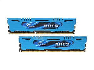 8 GB (2 x 4 GB) G.SKILL Ares 240-Pin DDR3 1600 (PC3 12800) Desktop Memory Kit (F3-1600C9D-8GAB) for $37.99 + Free Shipping @ Newegg.com (Starting at 6 PM PT)