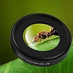 AGPtEK® 58MM 12.5x HD Macro Glass Lens for GoPro Hero 4 Hero 3+ Hero3 $18.99 FSSS @ Amazon.com