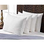 4 Pack Le' Nautique Collection Memory Fiber 300tc Cotton Pillows Standard Size $29.99 + $5 Shipping