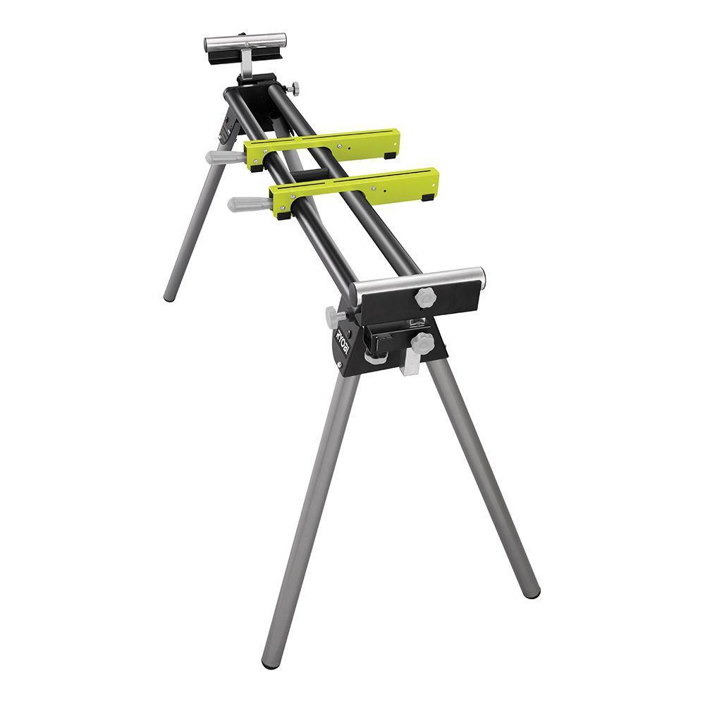 Ryobi Miter Saw Stand with Tool-Less Height Adjustment $29 + Free Store Pickup YMMV