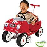 Radio Flyer Steer & Stroll Coupe Ride-On at Walmart Pink $55.98