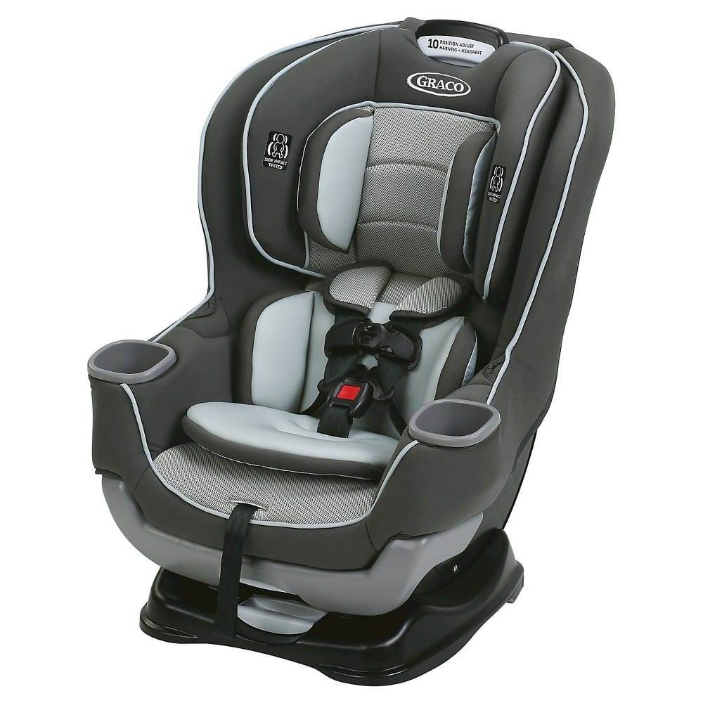 Graco Extend2Fit Convertible Car Seat for $135
