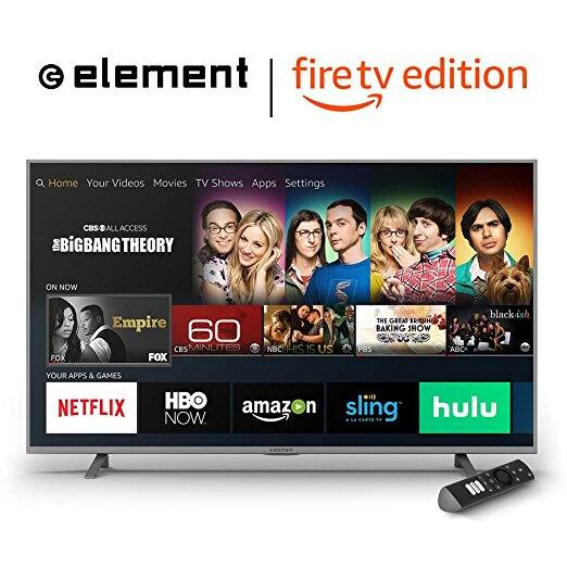 Element 50-Inch 4K Ultra HD Smart LED TV - Amazon Fire TV Edition $254.99