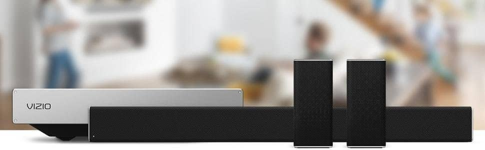 "VIZIO SB4551-D5 SmartCast45"" 5.1 Sound Bar System (2016 Model) $349"