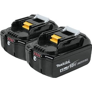 Makita Lithium ion 4.0ah battery 2 pack free ($189 value)  with qualifying 2 Makita bare tool purchases from Amazon