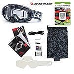 Liquid Image HD Snow Goggle Video Camera w/ 32GB Micro SD Card / 338 Apex / 368 Torque