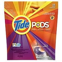 Best Buy Deal: Tide Pods 18-pack for 2.99+tax w/free shipping $35+ or store pickup at BestBuy.com