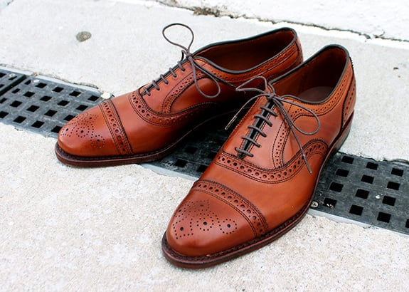 Allen Edmonds for Brooks Brothers $269 down from $428