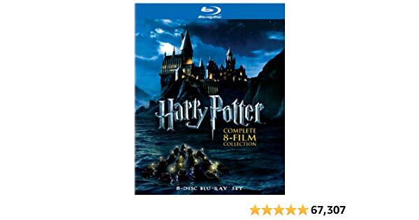 Prime Members: Harry Potter: Complete 8-Film Collection [Blu-ray]