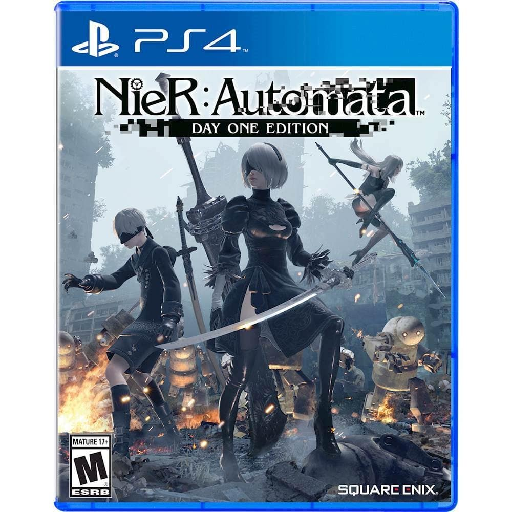 Nier: Automata - PlayStation 4 PS4 Video Game - Best Buy w/ GCU - $24.99 + FREE SHIP