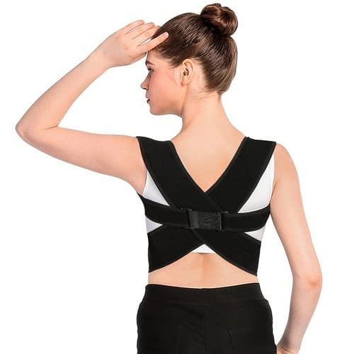 Posture Corrector Brace and Clavicle Support Straightener for Upper Back Shoulder Forward Head Neck Aid - $13.99