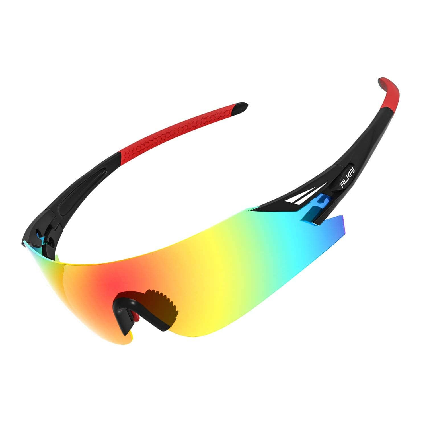 65% OFF - Men's WildKiz Cycling Sunglasses, Running Sunglasses, Polarized and 100% UV Protective, Live Wild Series Sports Sunglasses - $7.92