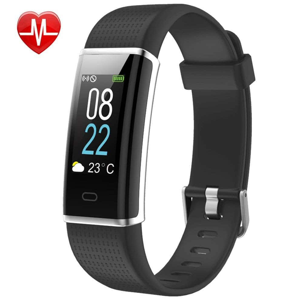 40% OFF - Color Screen Fitness Tracker with Heart Rate Monitor, Fitness Watch Activity Tracker - $22.19
