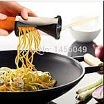 50% Off Spiral Vegetable Cutter Now $6.49 + Free Shipping @ Aliexpress.com