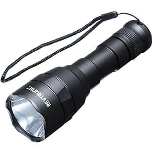 30% Off Revtronic 800 Lumens Rechargeable Cree  LED Flashlights with 18650 Rechargeable Battery - $18.19 @Amazon
