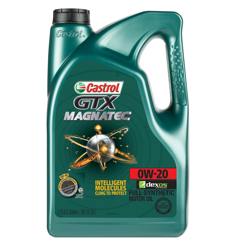 it's coming back. Castrol GTX MAGNATEC 0W-20 Full Synthetic Motor Oil, 5 QT. $17.88
