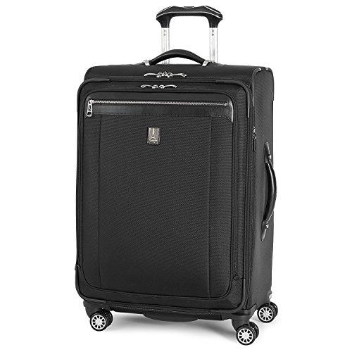 Travelpro Platinum Magna 2 Softside expandable Spinnner Black, Checked-Medium 25-Inch - Amazon - $140.50