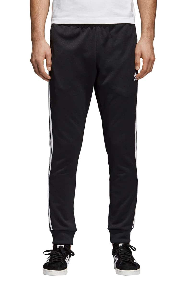 timeless design 714a1 b90c5 adidas Originals Superstar (SST) Track Pants, Mens, Black ...