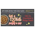 Free Chocolate Chip Cookie at Great American Cookie (child bribe week)