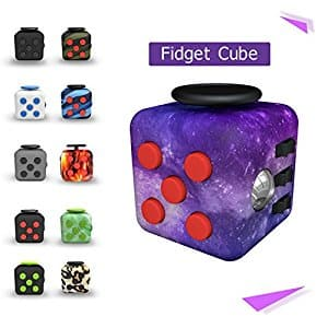 Tepoinn Fidget Attention Cube Relieves Stress and Anxiety Educational Development Toys for ADD, ADHD, Anxiety, and Autism Children and Adults $6.99