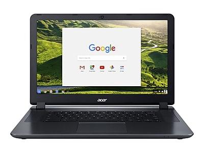 """Acer 15 NX.GHJAA.002 15.6"""" Refurbished Chromebook, Intel N3060, 2GB Memory $69.99 Staples"""