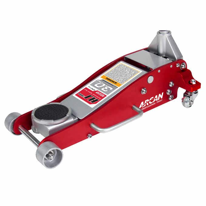 Arcan 3 Ton Professional Grade Aluminum And Steel Service Floor Jack $100 Shipped at Costco online