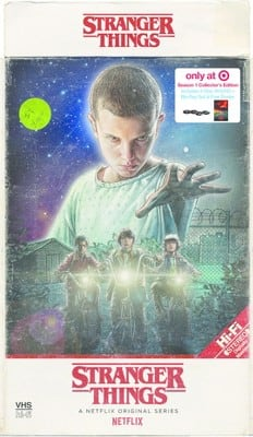 Stranger Things - Season 1 and 2 (4K-Bluray) - $12.50 each (IN-STORE pickup only) + *Free $5 Target Giftcard*