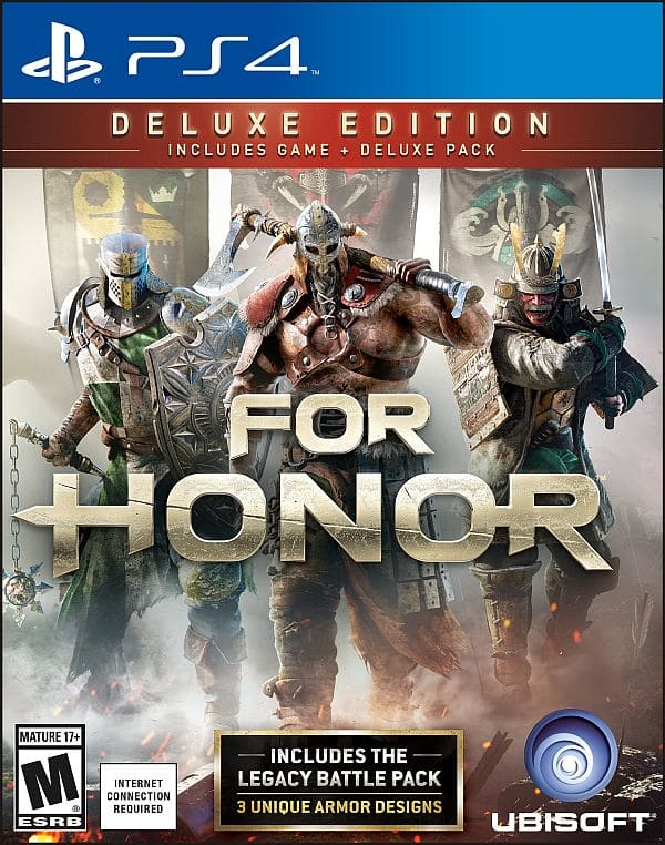 $18.75 For Honor: Deluxe PS4 on Amazon