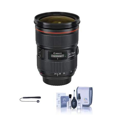 YMMV $1529 AC Canon EF 24-70mm f/2.8L II USM Zoom Lens - U.S.A. Warranty and more